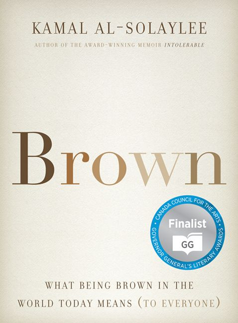 "Cover of ""Brown,"" by Kamal Al-Solaylee"